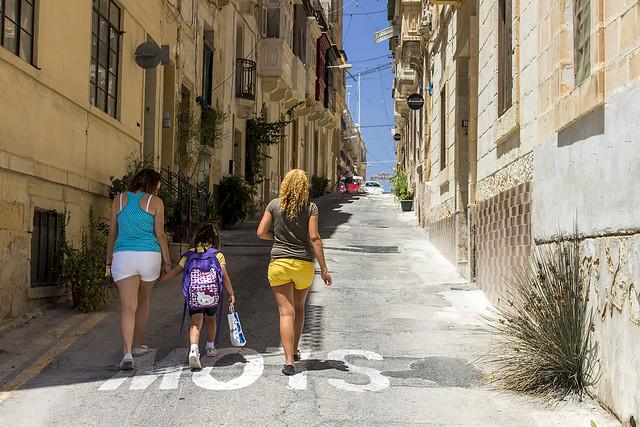 Vittoriosa street / Malta Island