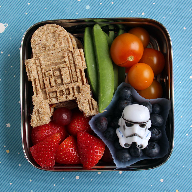 Preschool Star Wars ECO Lunchbox Bento #476