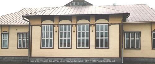 Iisalmen Tyttölyseo (1949-1957): Wivi Lonn designed this school by Anna Amnell