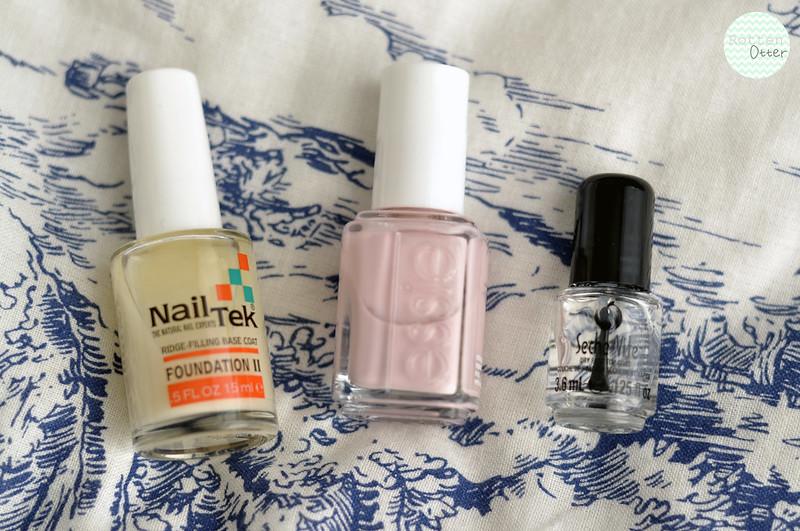 notd essie neo whimsical nail polish purple creme rottenotter rotten otter blog 2