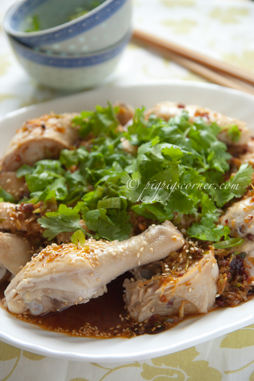 "Szechuan ""Saliva"" Chicken 四川口水鸡"