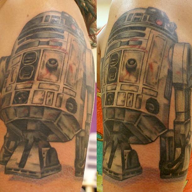 Starwars tattoo r2d2 tattoo intenze ink tattoo aaron for Tattoo fort myers