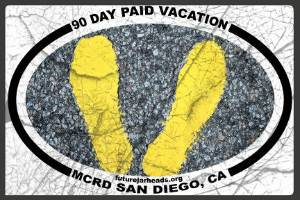 MCRD SAN DIEGO 90 DAY PAID VACATION