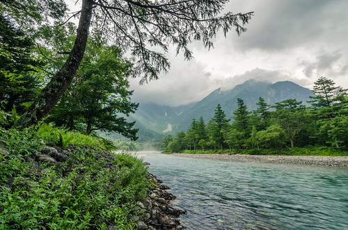 Kamikochi On A Cloudy Day