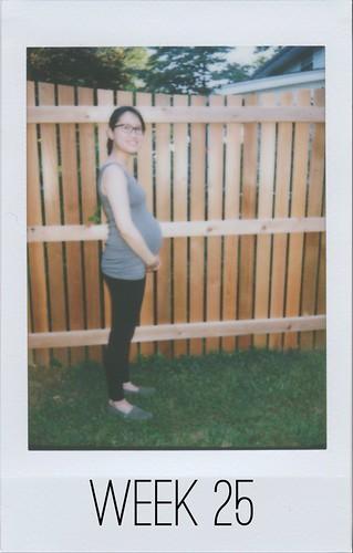 Baby Bump - Week 25