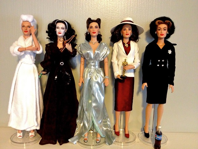 Joan Crawford Mommie Dearest Dolls Hollywood Royalty