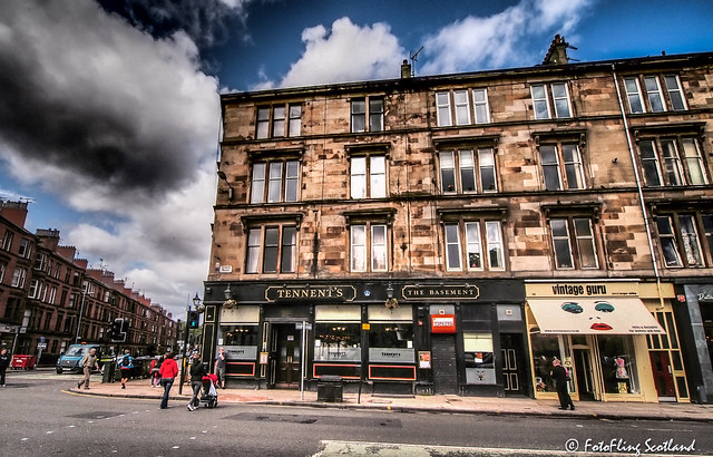 Tennent's Bar, Byres Road, Glasgow