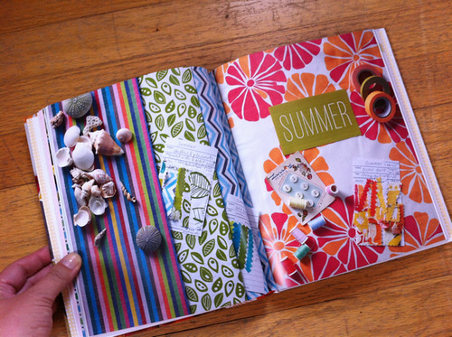 Summer chapter opener from Sewing For All Seasons