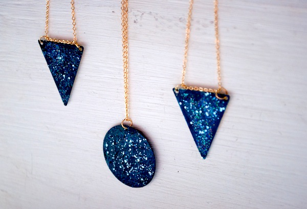 DIY Galaxy Necklace