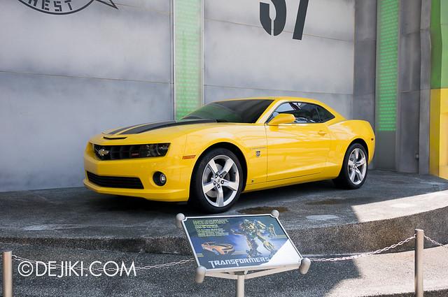 Universal Studios Singapore - Chevrolet Camaro / Bumblebee