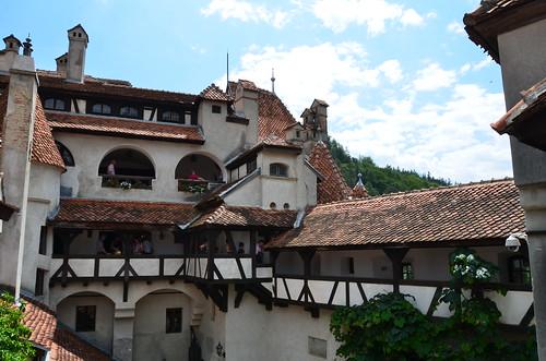 Замок Дракулы (Замок Бран). Румыния. Castillo de Dracula. Bran. Romania
