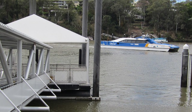 Brisbane Citycat ferry