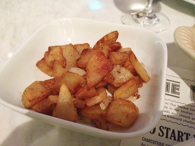 "Potatoes ""Sarladaise-style"", the Market Grill"