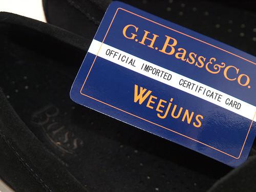 G.H.Bass / Logan Black Suede