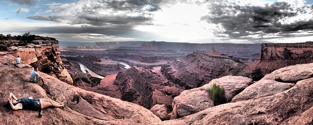 Panorama view Colorado Plateau - Dead Horse State Park
