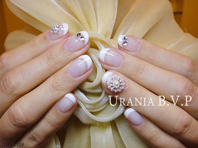 法式光療指甲