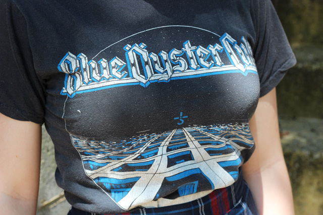 Vintage 70s Blue Oyster Cult Tshirt