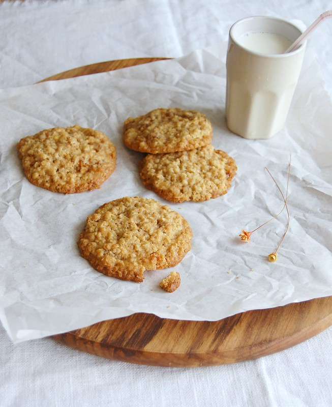 Zesty oaty cookies / Cookies cítricos de aveia