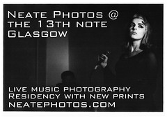 Neate Photos Residency flyer with Hausfrau by neate photos