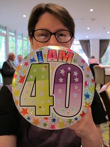 I am 40!