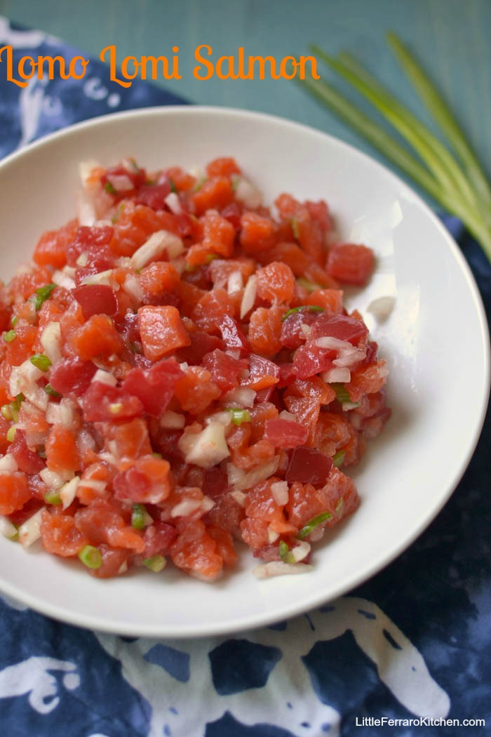 Hawaiian Plate Lunch via LittleFerraroKitchen.com