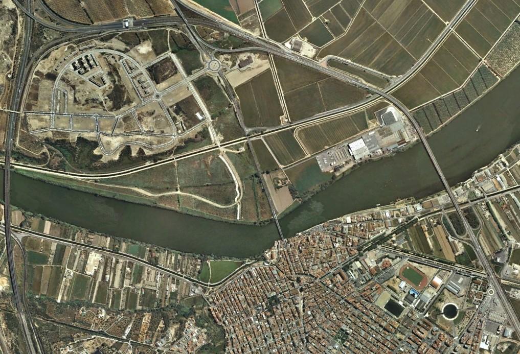 Amposta, Tarragona, Amdrede,después, urbanismo, planeamiento, urbano, desastre, urbanístico, construcción, rotondas, carretera