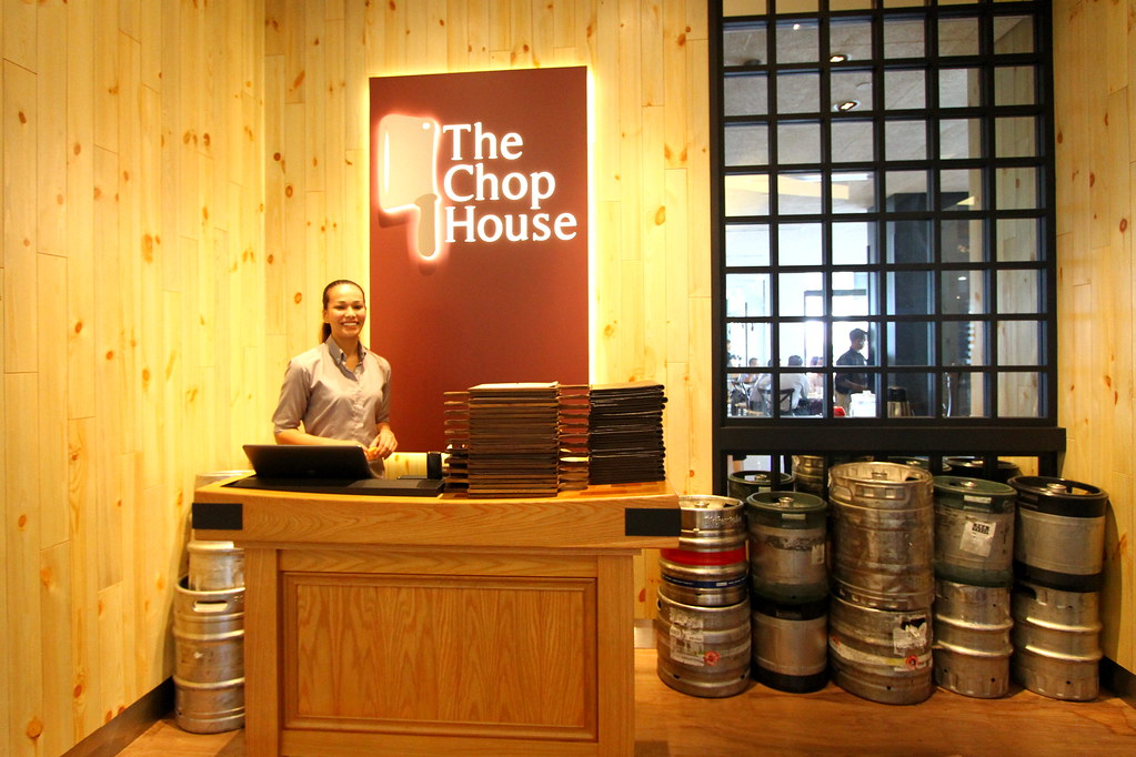 The Chop House Sign