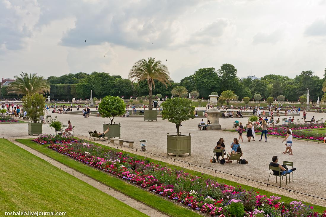 Люксембургские сады-15