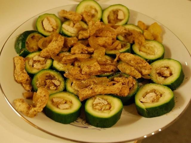 Zucchine Ripiene di Carne Dukan