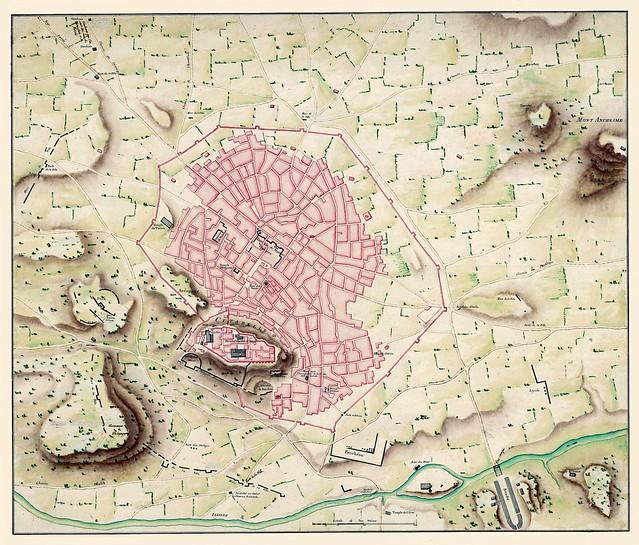 Plan d'Athenes, 1780 (Fauvel)