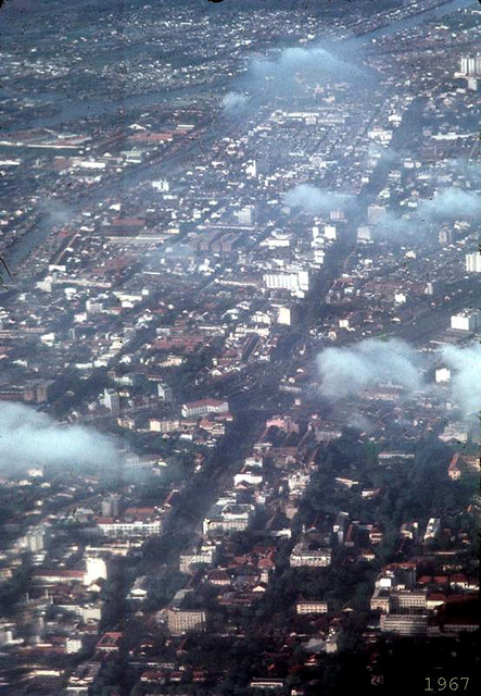 1967 Saigon from the air