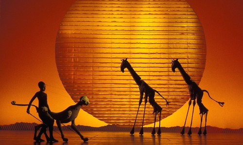 Circle of Life - Photo of London Production of The Lion King © Catherine Ashmore