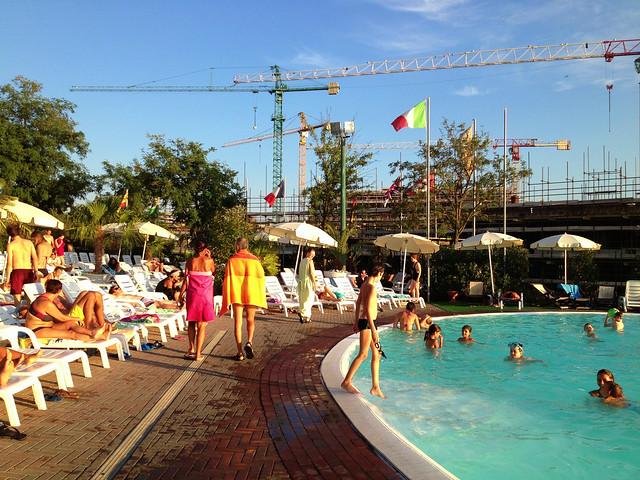 PLUS Camping Roma pool