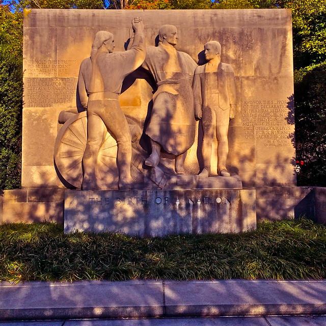 Philadelphia: Birth Of A Nation Monument