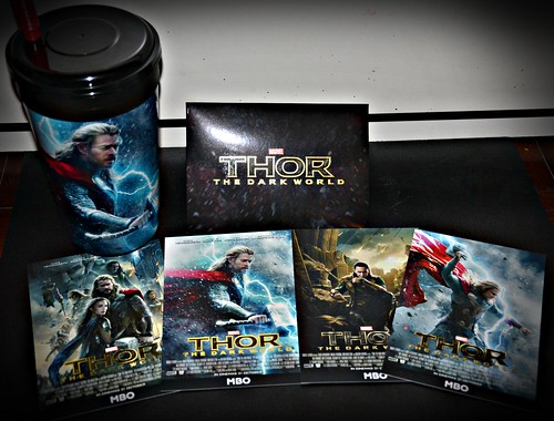 Thor: The Dark World merchandise - MBO Cinemas