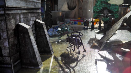 Displacer Beasts at the Bell tower