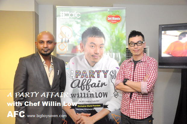 A PARTY AFFAIR with Chef Willin Low AFC 11