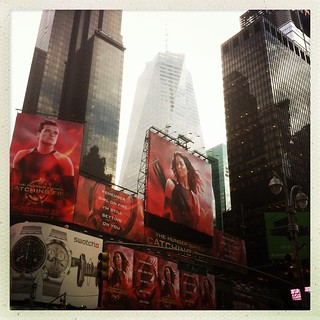 New York - Times Square & Hunger Games