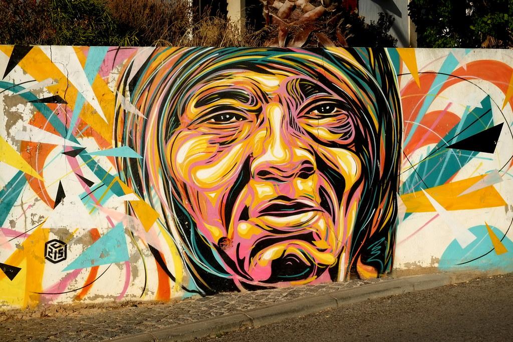 streetart | c215 | lac . lagos . portugal