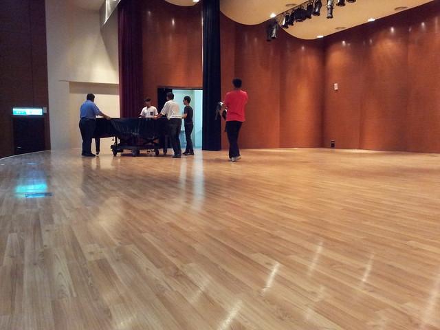 晨園琴箏公演-新化演奏廳調音
