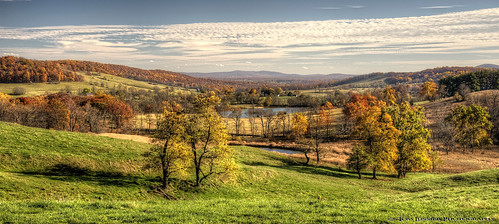 statepark usa tree water barn fence landscape virginia fallcolor farm fallcolors historic pastoral d700 tomlussier
