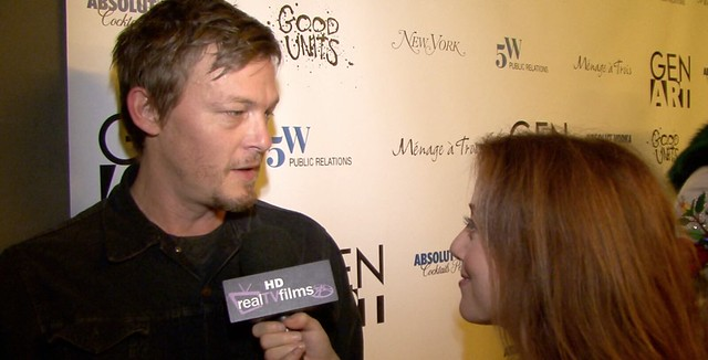 Norman Reedus, The Walking Dead, AMCTV