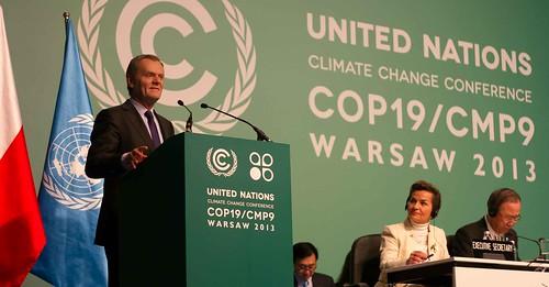 COP19大會在華沙召開。