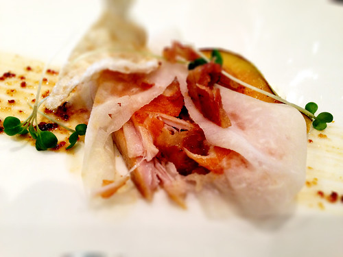 Pork, Horseradish, Pear, Mustard at Gladioli Restaurant