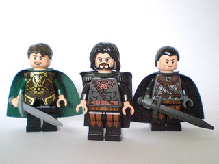 Lego GoT: The three Baratheons