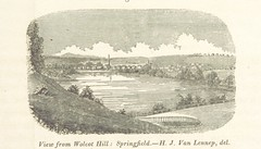 """British Library digitised image from page 55 of """"Sketch of the scenery of Massachusetts. With plates. From the Geological Report of Prof. Hitchcock"""""""