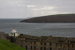 Immagine di Charles Fort vicino a Kinsale. ireland water europe fort cork kinsale charlesfort