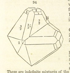"""British Library digitised image from page 122 of """"A System of Mineralogy. Descriptive Mineralogy ... By J. D. Dana ... aided by George Jarvis Brush ... Fifth edition. Rewritten and enlarged, etc"""""""