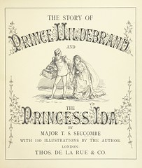 """British Library digitised image from page 11 of """"The Story of Prince Hildebrand and the Princess Ida ... With 110 illustrations by the author"""""""