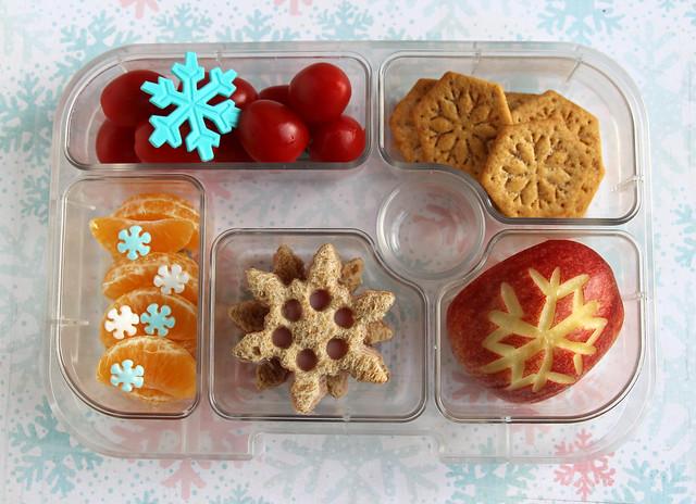 Preschool Snowflake Bento #554